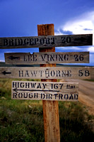 GHOST TOWN BODIE CALIFORNIA  HISTORIC STATE PARK  MILEAGE SIGNS STUDIOSCHATTO IMG 008