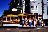 SAN FRANCISCO'S CABLE CARS GOLDEN GATE NORTH BEACH ...