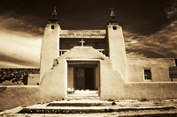 RANCHOS DE TAOS SAN FRANCISCO DE ASIS MISSION CHURCH  NEW MEXICO STUDIOSCHATTO IMG 003T